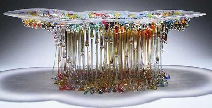masa din sticla