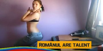 romanii au talent video