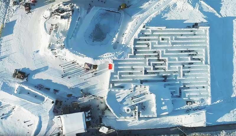 labirint din zapada polonia